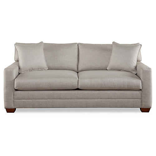 Bella Sleeper Sofa, Gray
