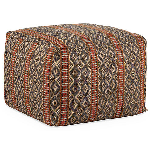 Ero Pouf, Gray/Multi