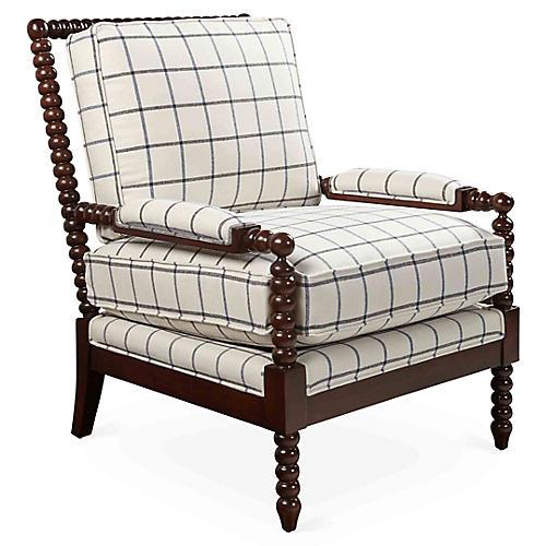 Bankwood Spindle Chair