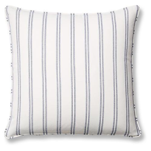 Espadrille 20x20 Pillow, Blue Sunbrella
