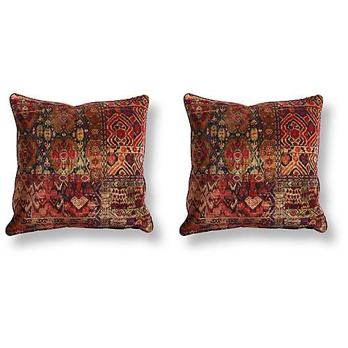 S/2 Rio 20x20 Pillows, Magenta