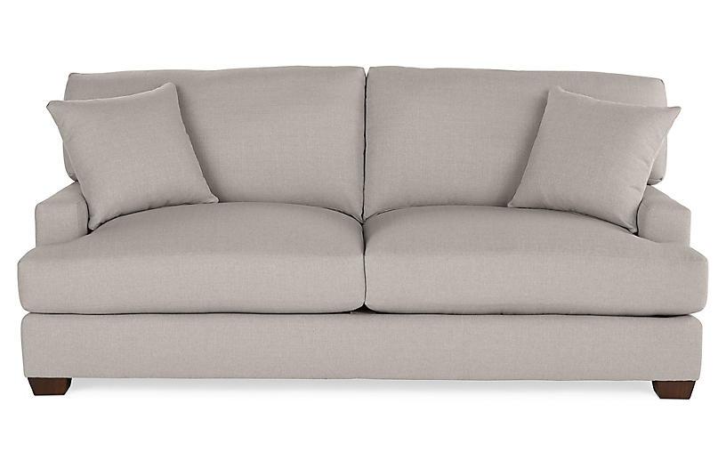 Gray 84 Inch Sofa One Kings Lane