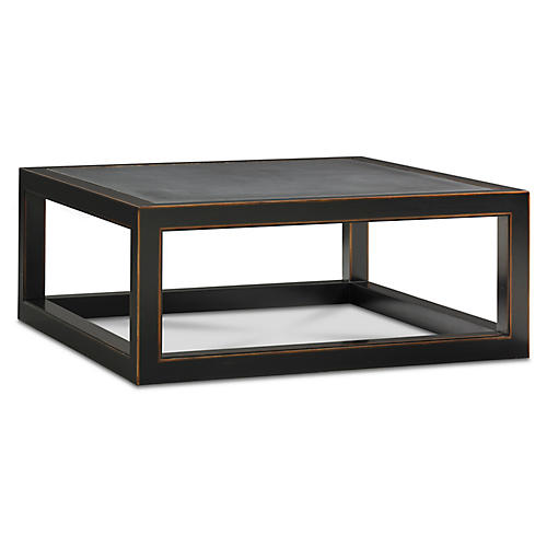 Coffee tables one kings lane ming coffee table ebony watchthetrailerfo