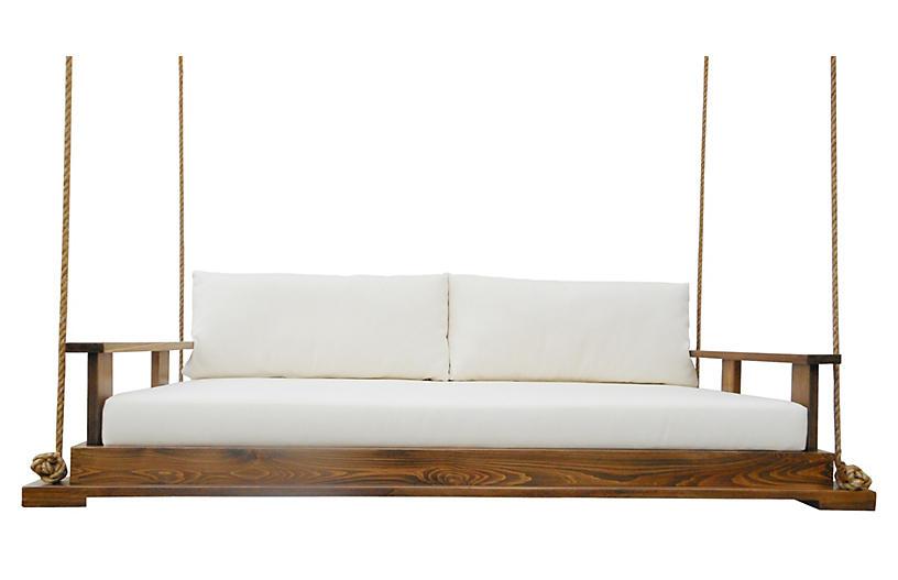 Savannah Bed Swing, Brown/Cream