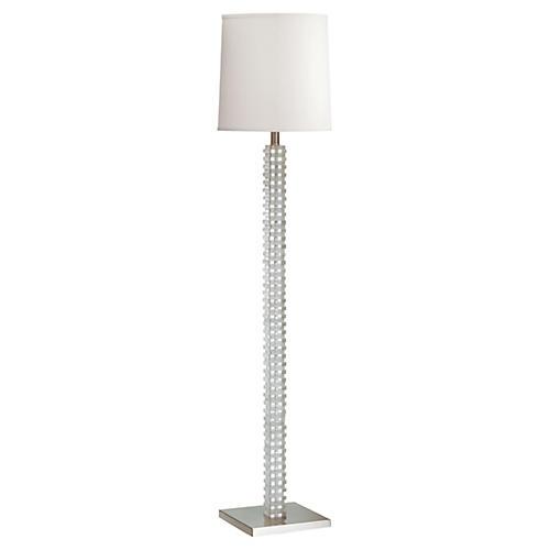 Murray Floor Lamp, Clear