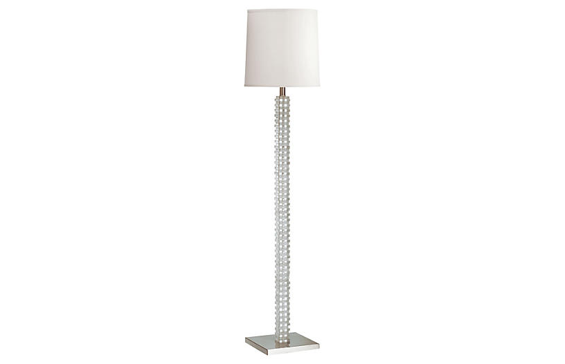 Murray Floor Lamp, Clear