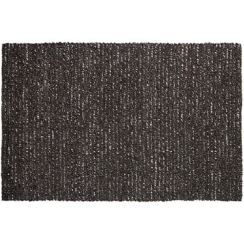 Cali New Zealand Wool Rug, Gray