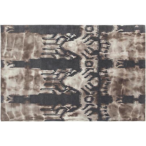 Berwick Rug, Charcoal/Beige
