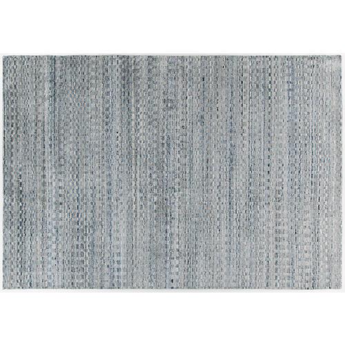 Dryburgh Rug, Blue/Silver