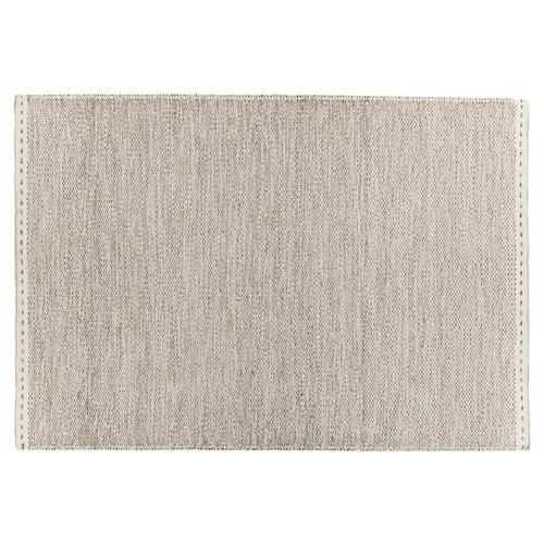 Eskdale Flat-Weave Rug, Gray/White