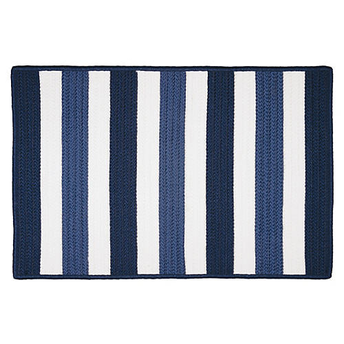 Port Smith Outdoor Rug, Blue