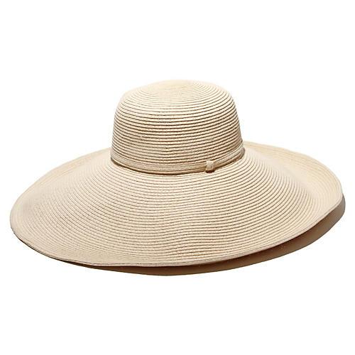 Belladonna Straw Hat, Ivory