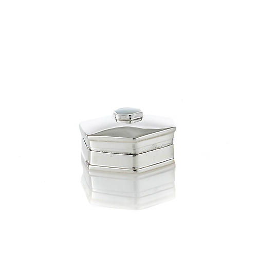 Sterling 5-Sided Pillbox