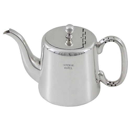 Imperial Hotel Teapot