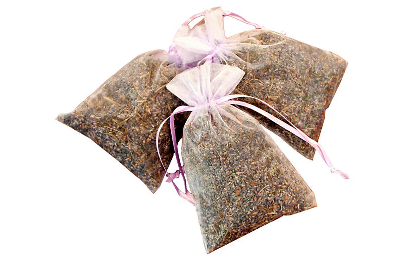 Set of 3 Lavender Sachets - Creekside Farms