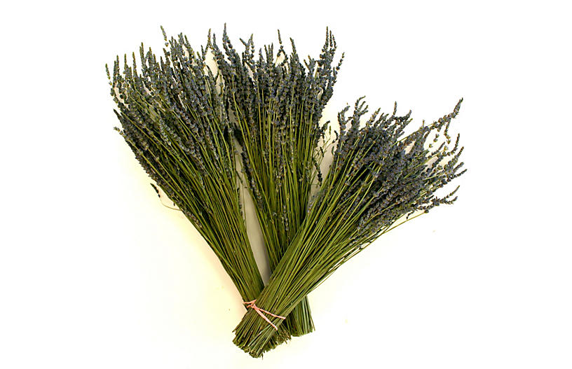 Lavender Bunches, Dried