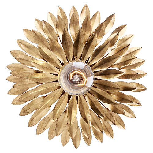 Broche 1-Light Sconce/Ceiling Mount