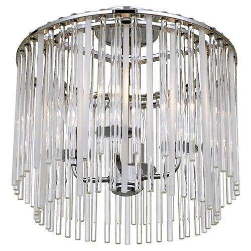 Bleecker Ceiling Mount, Chrome
