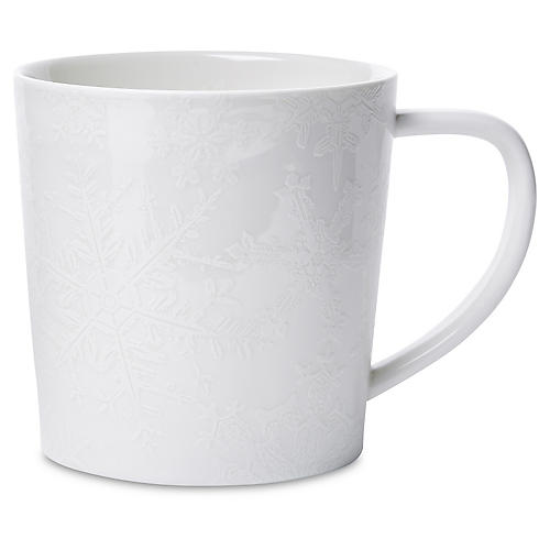 Winter White Mug, 14 Oz