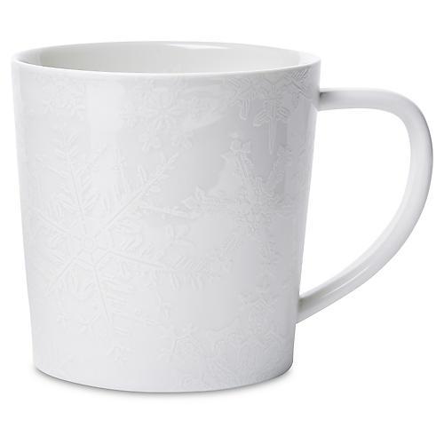 Winter White Mug, 14 Oz