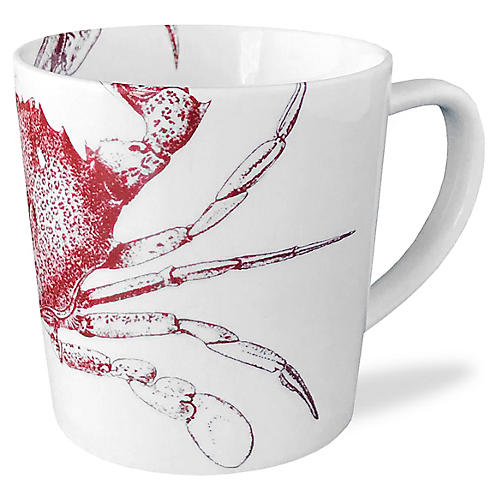Crab Mug, Red
