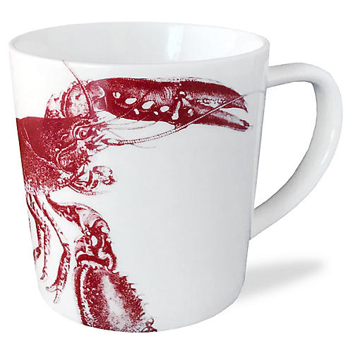 Lobster Mug, Red