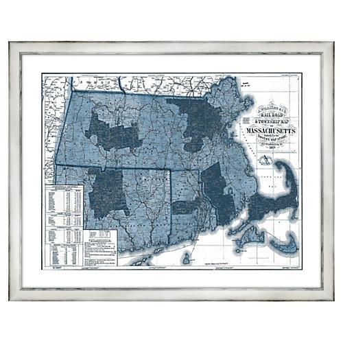 Massachusetts in Blue