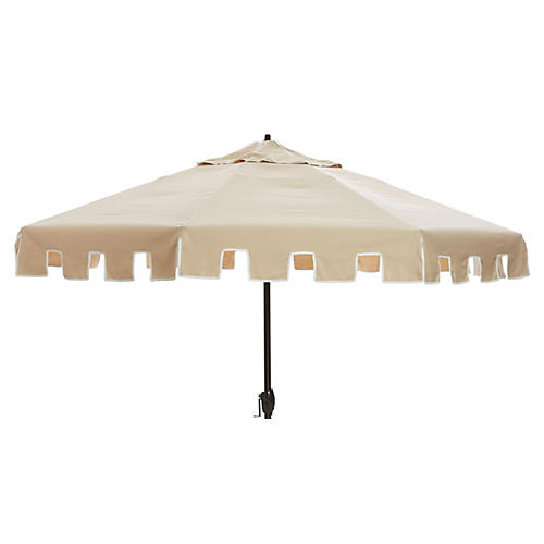 Nina Patio Umbrella, Tan