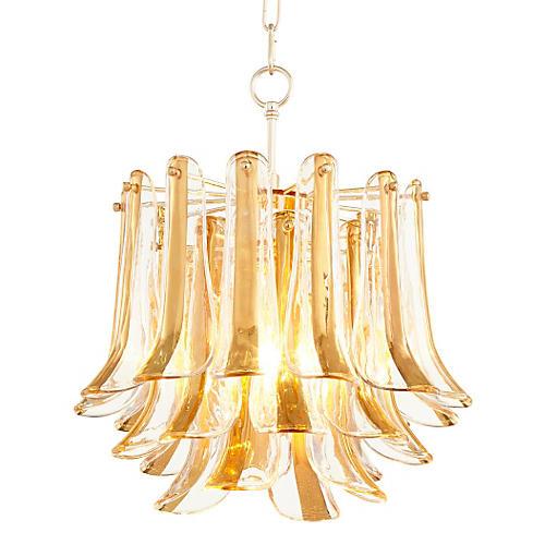 """17"""" Camilla Pendant, Gold"""