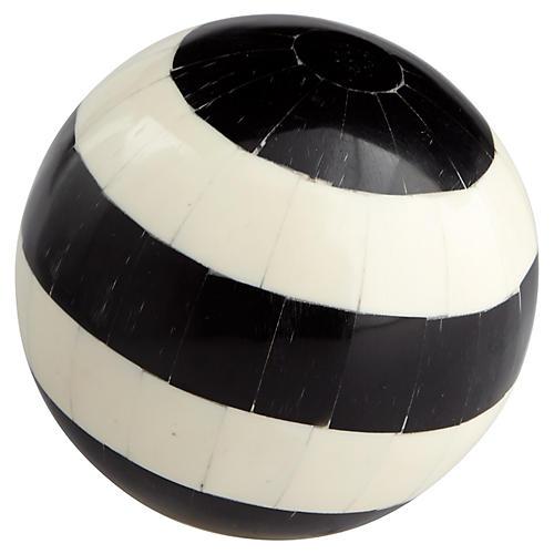 """4"""" Bullseye Filler, Black/White"""