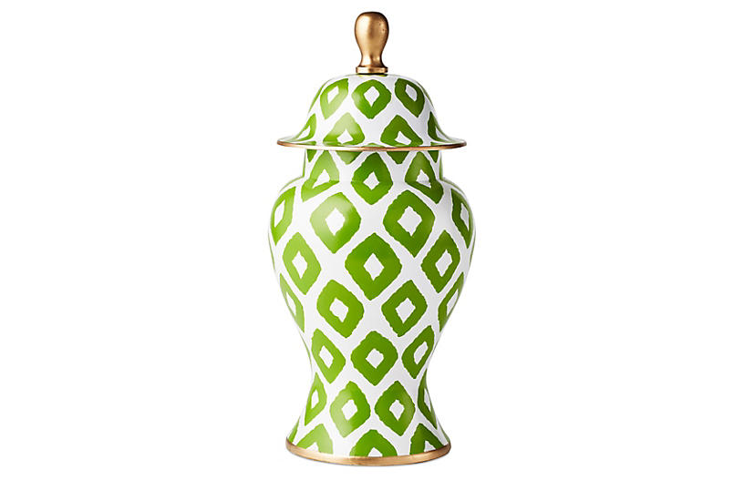 Baratta in Green Ginger Jar, Small