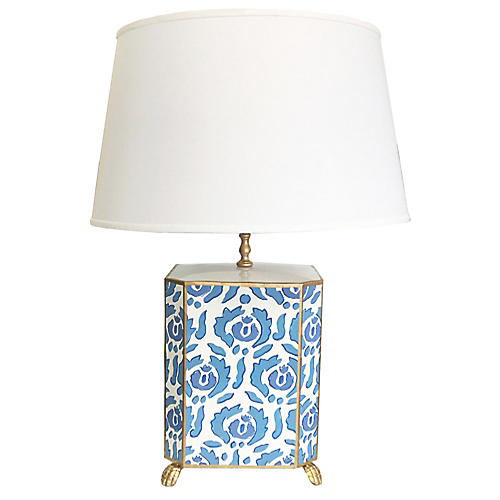 Beaufont Table Lamp, Blue