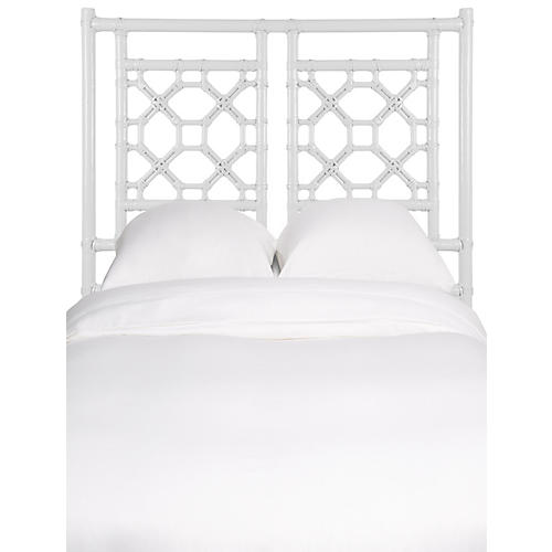 Lattice Kids' Headboard, White