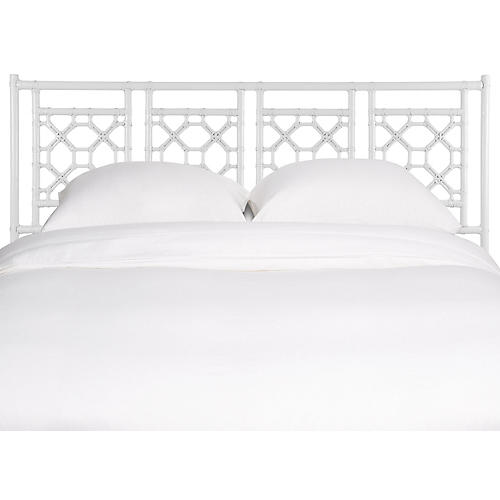 Lattice Headboard, White