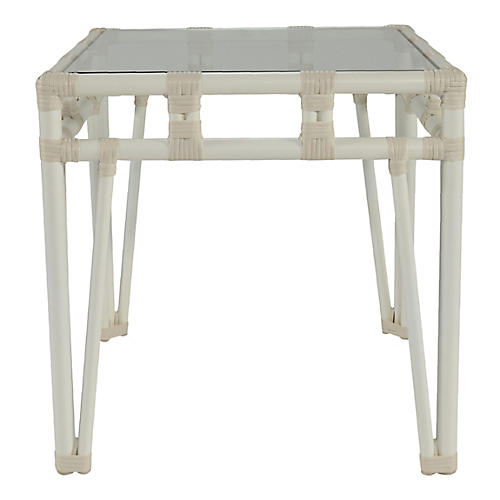 Nantucket Side Table, White