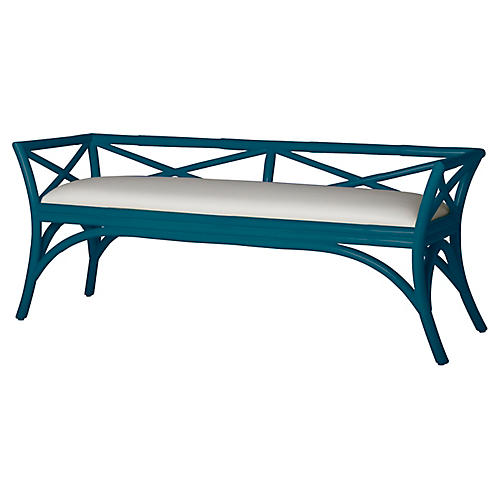 Charlotte Bench, Pacific Blue