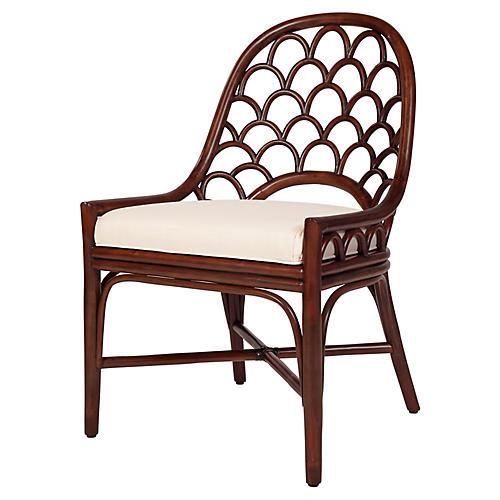 Koi Side Chair, Coffee Brown