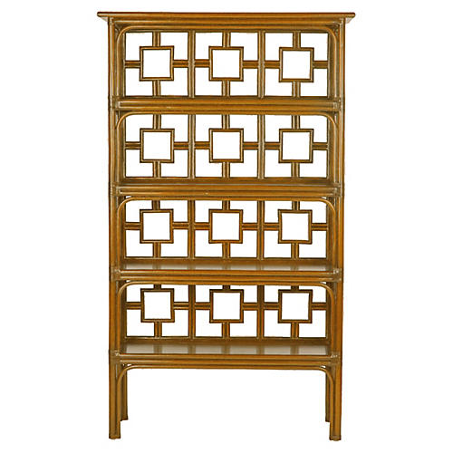 Sobe Bookcase, Camel Brown