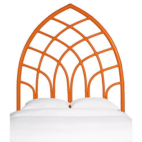 Cathedral Kids' Headboard, Citrus Orange