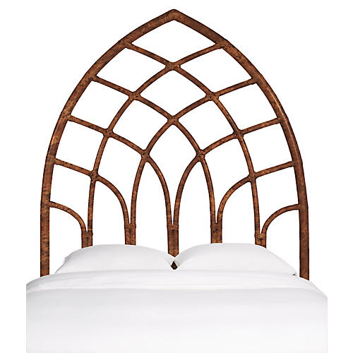 Cathedral Kids' Headboard, Tortoise Shell