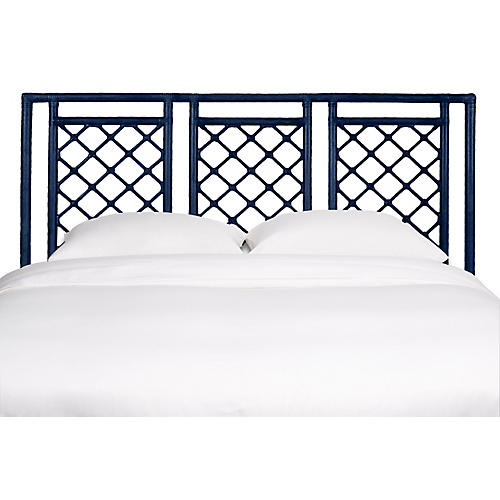 Dakota Headboard, Navy Blue