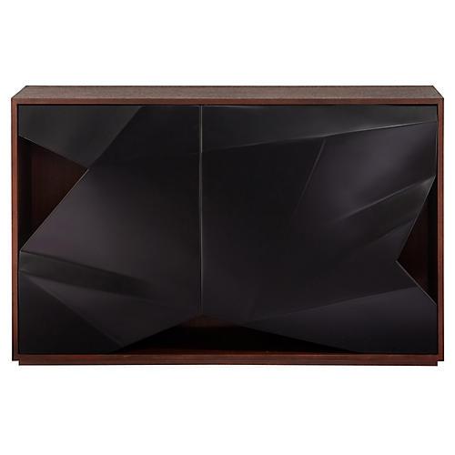 Prism Cabinet, Black