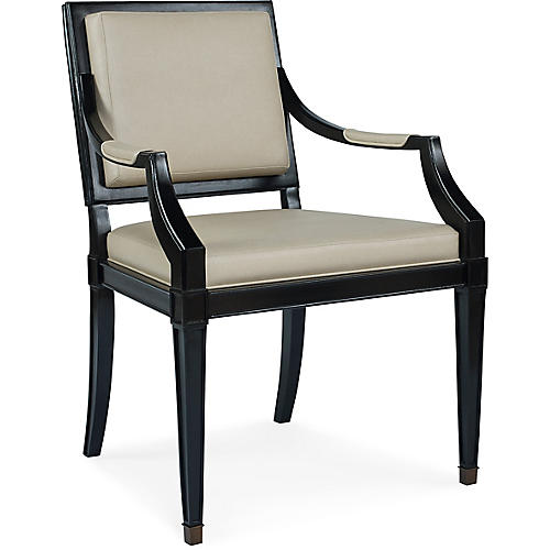 Windom Armchair, Tan
