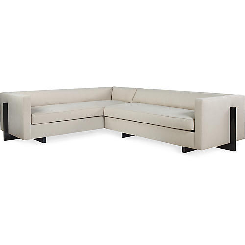 Porter Sectional, Eggshell