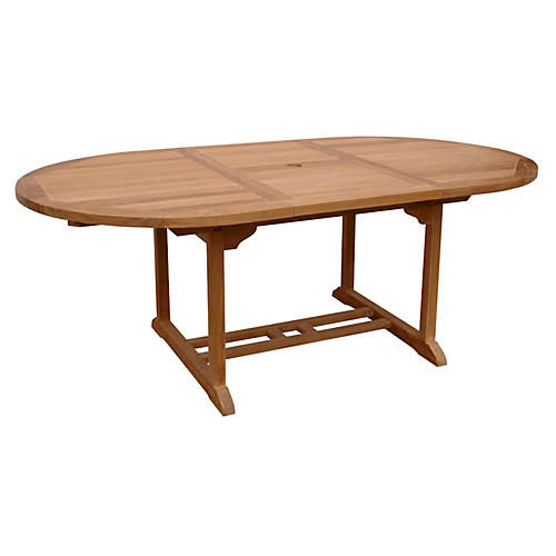 "47""-71"" Bahama Oval Extension Table"