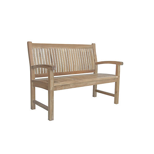 Sahara 2-Seater Bench, Natural