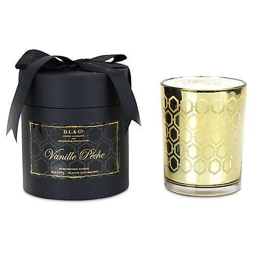 Maison D'Or Candle, Vanilla Pêche