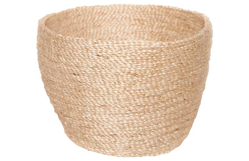 Jute Bowl, Natural