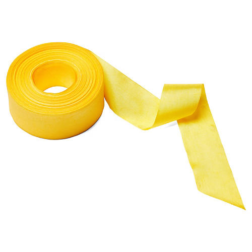 """1.5"""" Solid/Wrinkled Ribbon, Yellow"""