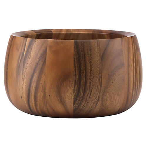 Tulip Salad Bowl, Brown